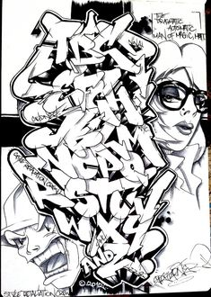 A through Z. I don't know how to draw. Comment/fave if you dig. Fuck GTR crew! Grafitti Alphabet, Graffiti Alphabet Styles, Graffiti Styles, Graffiti Font, Graffiti Writing, Graffiti Tattoo, Graffiti Tagging, Street Art Graffiti, Graffiti Lettering Alphabet