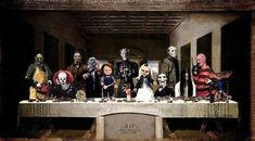 "Horror Villains | 55 Pop Culture Parodies Of ""The Last Supper"""
