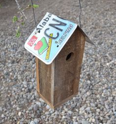 Your place to buy and sell all things handmade Rustic Birdhouses, Birdhouse Ideas, Barn Wood Projects, Birdcages, Reclaimed Barn Wood, Bird Houses, Bird Feeders, Alabama, Repurposed