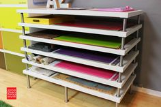 Flat File Storage Using LINNMON Table Tops - IKEA Hackers