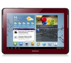 Red Samsung Tablet....what I have my eye on to replace my old tablet.