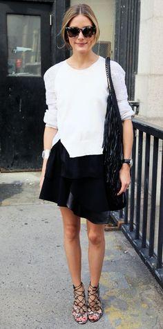 日本人体型で真似しやすい!海外ファッショニスタ「オリビア・パレルモ」のファッションコーデ集☆ - Yahoo! BEAUTY