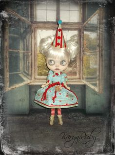 Blythe  Vintage Circus Inspired 2 Piece Outfit with by KarynRuby