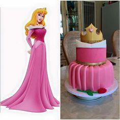 Wonderful Image of Sleeping Beauty Birthday Cake - birthday Cake White Ideen Princess Aurora Party, Princess Birthday, Girl Birthday, Birthday Ideas, Birthday Cake 30, Beauty Party Ideas, Beauty Ideas, Aurora Cake, Sleeping Beauty Cake