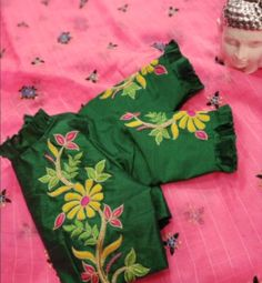 Com Best 12 Saree blouse – SkillOfKing. Cutwork Blouse Designs, Kids Blouse Designs, Hand Work Blouse Design, Simple Blouse Designs, Stylish Blouse Design, Blouse Neck Designs, Sleeve Designs, Saree Blouse, Handmade Crafts