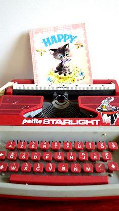 Petite Starlight Toy Typewriter