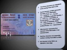 PAN Card number sequence explained