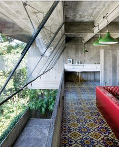 Rustic, Modern, and Natural - all aspects of design I amore! - by Paulo Mendes da Rocha