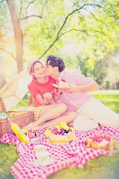 Maybe just actually have a picnic and let you capture the moments