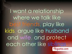 relationship where we talk like best friends