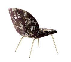 Beetle lounge chair, lounge stol, lænestol