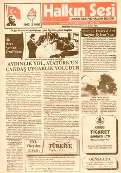 AYDINLIK YOL, ATATÜRK'ÜN ÇAĞDAŞ UYGARLIK YOLUDUR 09.10.1990