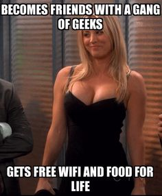 Penny from Big Bang Theory - www.funny-pictures-blog.com