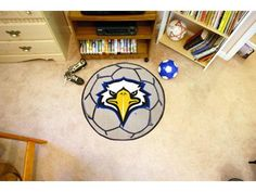 Morehead State Eagle Team Logo Baseball Mat 27 Diameter