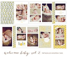 Welcome Baby - available through Jen Boutet Photography with your portrait session - in Charlottesville, Va.