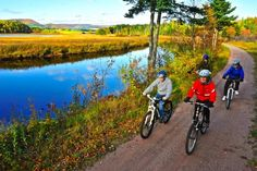 The Coastal Trail is a multi-use trail stretching from Port Hastings to the town of Inverness on the west coast of spectacular Island. Cabot Trail, Cape Breton, Inverness, Vacation Packages, Bike Trails, Travel Deals, Nova Scotia, Mountain Biking, Touring