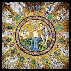 Ravenna, Battistero degli Ariani, particolare. Foto di Stefano Pelloni.