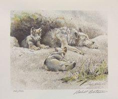 Robert Bateman Wolves Wolf