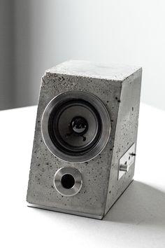 CONCRETUS BLUETOOTH SPEAKER - concrete