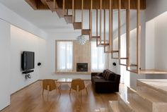 PRIVATE RESIDENCE - modern - Living Room - Montreal - William Bosc