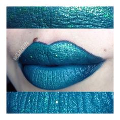 @houseofuni  Fountain lust ($9.00) & Wicked ($9.00)  @colourpopcosmetics Bullchic Lippie pencil ($5.00) @sugarpill Sparkage Elektrocute pigment