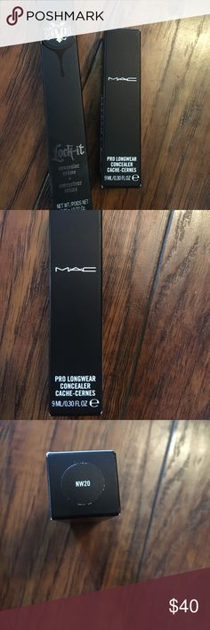 Concealer duo Kat von d and mac cosmetics Mac nw20 brand new in package Kay von d used once wrong shade light 1 neutral MAC Cosmetics Makeup Concealer