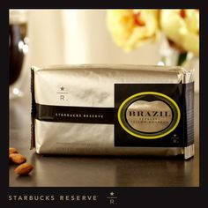 Starbucks Reserve? Brazil Peaberry Yellow Bourbon - 8 Oz. Whole Bean