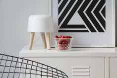 Via Bambula | Bertoia Chair | Milk Lamp | RK Design Print | Ikea PS