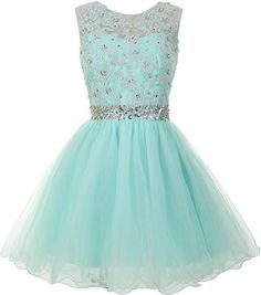 online shopping for Mamilove Women's Tulle Short Applique Beading Formal Homecoming Cocktail Party Dress from top store. See new offer for Mamilove Women's Tulle Short Applique Beading Formal Homecoming Cocktail Party Dress Cute Formal Dresses, Unique Prom Dresses, Sweet 16 Dresses, Hoco Dresses, Long Bridesmaid Dresses, Types Of Dresses, Formal Evening Dresses, Casual Dresses For Women, Homecoming Dresses