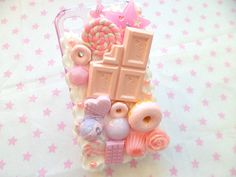 Pink and Purple Pastel Kawaii Decoden Whipped Cream by Clotique, £16.50