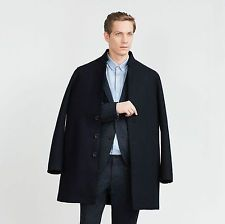 ZARA Man BNWT Navy Blue Wool Blend Coat With Piped Seams Premium Quality 5418300  $144.11    End Date:  Apr-27 15:05   Buy It Now for only: US $144.11  Buy it now    |  http://bayfeeds.com/ebayitem.php?i=182006156992&u=3464&f=3228