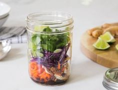 It's safe to say that sesame plus chicken is a culinary match made in heaven. Add ginger for kick and carrot noodles for crunch and you've got a delicious and healthy lunch in minutes. on goop.com. http://goop.com/recipes/ginger-sesame-chicken-noodle-pot/