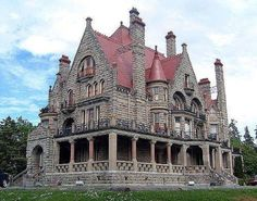 Craigdarroch Castle, Victoria, British Columbia, Canada Wonderful Castles In The World
