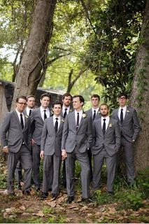 The Groom Wore Grey
