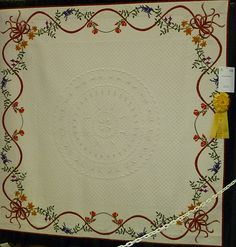 Beautiful border...would look nice on an album quilt too