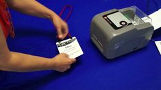 pc/nametag presents the Datamax Name Tag Printer [Updated! Inkjet Printer, Visitor Badges, Name Tent, Thermal Labels, Thermal Printer, Wooden Names, Plastic Card, Name Badges, Badges