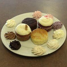 #wedding #cake tasting plate, yummy