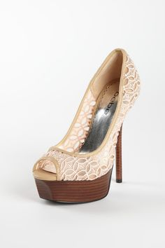 Cute shoes, similar to the one's a want so back at David's Bridal
