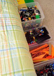 tips for organizing legos!!!
