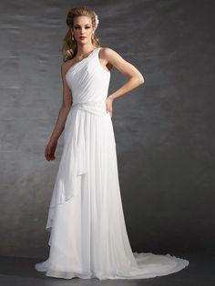 vestidos de novia de un solo hombro - Buscar con Google