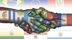 MITOS ECONOMICOS : INTEGRACION REGIONAL GUIADA POR EE.UU.   Unificar América del Sur La gira por España del ministro Alfonso Prat Gay en mayo de este año trascendió al público por el insólito pedido de disculpas al capital español. No menos particular fue su visión del tratado de libre comercio entre Mercosur y Unión Europea: Ustedes saben que el Tratado del Pacífico está avanzando muy fuertemente... nosotros vemos que el acuerdo de la Unión Europea con el Mercosur puede ser el camino para…
