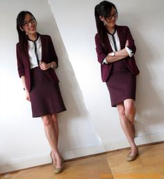 Face Value Beauty Blog: What I Wore To Work Wednesday: Not-So Masculine Tailoring