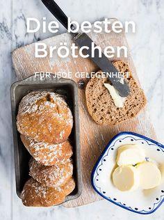 Das perfekte Frühstück: Dinkelbrötchen & Co. Dessert Dips, Desserts, Doughnut, French Toast, Bread, Breakfast, Food, Gluten Free Bagels, Brown Bread