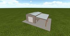 3D #architecture via @themuellerinc http://ift.tt/2q67UwB #barn #workshop #greenhouse #garage #DIY