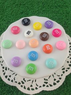 These super sweet resin candy earrings look just like real m