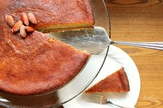 This 'Boterkoek' is a gluten-free, sugar-free, version of the classic, rich, buttery, almond-flavored Dutch cake! A slimming, satisfying THM S.