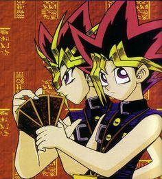 En el momento preciso del Duelo se que siempre tendré tu apoyo, sea tarde o temprano se que estarás a mi lado.    ~ Yami Yugi  &  Yugi ~