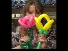 Learn to create balloon decorations, how to twist balloons and how to make balloon animals with our online courses and tutorials Ballon Decorations, Balloon Centerpieces, Flower Decorations, Ballon Flowers, Tulips Flowers, Ballon Crafts, Clown Balloons, Ballon Animals, How To Make Balloon