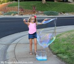 How to Make a Giant Bubble Wand
