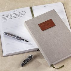 Levenger 5-Year Journal with Personalization
